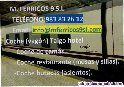 Coches  Talgo (Vagones)