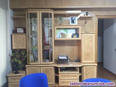 Mueble Salón baldas decorativo Madera