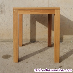 Mesa madera 59x59cm