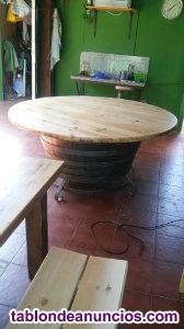 Mesa circular