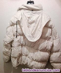 Abrigo/plumas blanco Kronter