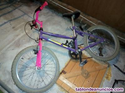 Bicicleta infantil montaña, con cambio