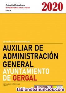 Auxiliar Administrativo del Ayuntamiento de Gergal