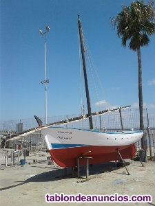 Barco clásico vela latina