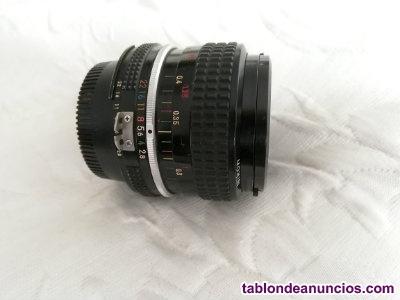 Objetivo nikon 28 mm f 2.8.enfoque manual