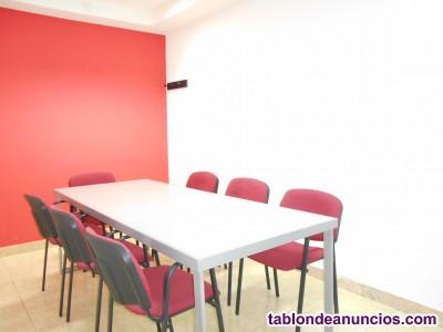 Alquilo sala de reuniones para 8 personas