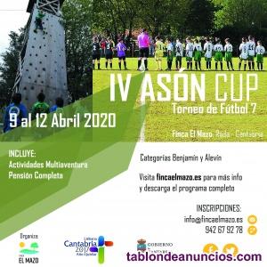 Torneo de fútbol asón cup 2020