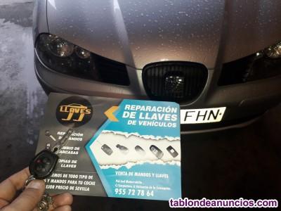 Copia de llaves de coches en valencina de la Concepción