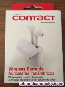 Auriculares bluetooth (wireless earbuds) nuevos a estrenar.