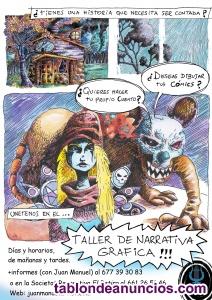 Taller de narrativa gráfica para cómic y cuento