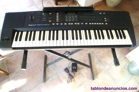 Teclado sintetizador roland e-35
