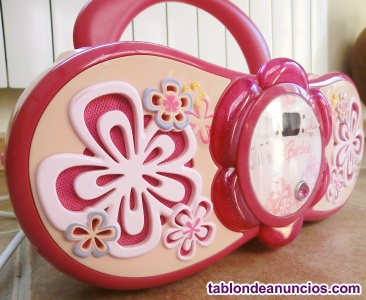 Reproductor cd infantil barbie lexibook rcd150bb