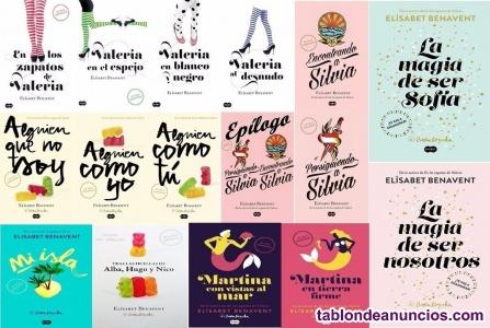 17 libros de elisabet benavent