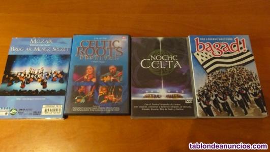 DVDs Música celta folk gaita etc