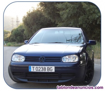 Vendo mi coche golf