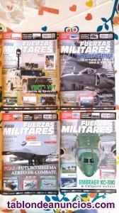 4 revistas Fuerzas militares del mundo