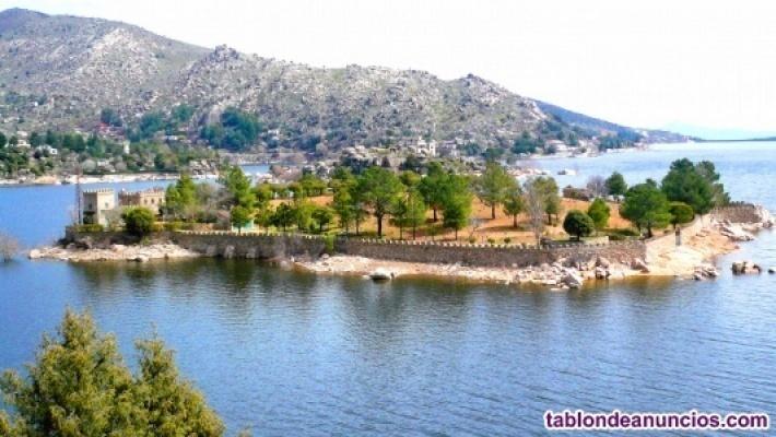 Isla Privada en el Embalse de El Burguillo