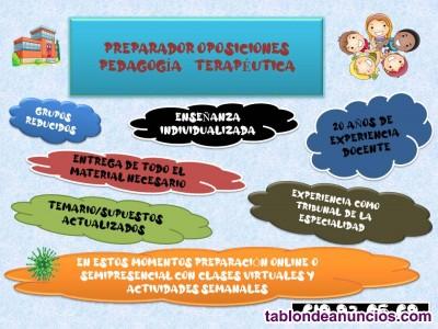 Preparador oposiciones pedagogía terapéutica écija