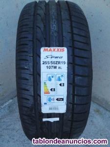 Neumático MAXXIS S-PRO 255 50 ZR19
