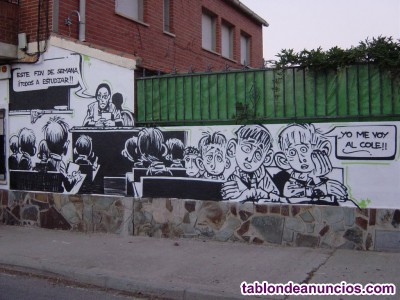 Pintor GRAFFITI GRAFITI GRAFYTY GRAFFITY Decorador