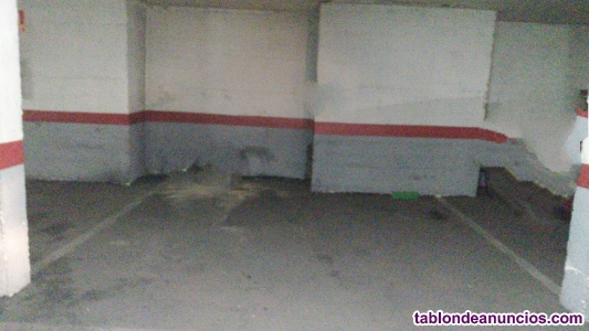 Venta plaza garaje para coche y moto