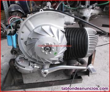 Motor de Vespa 200 restaurado