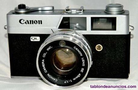 Cámara fotos canonet q19 flash national PE-164