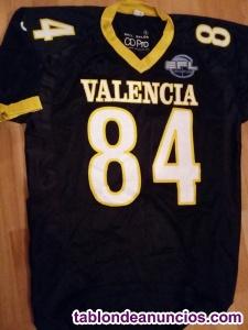 Camisetas auténticas de juego VALENCIA FIREBATS LNFA EFL Fútbol Americano