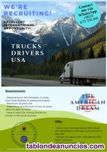 Truck driver (houston-texas usa)