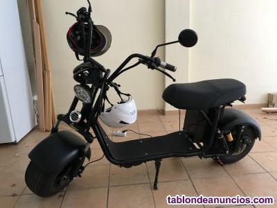 Scooter eléctrica menos de un año excelente