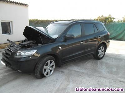 Despiece de Hyundai Santa Fe de 2.2 crdi del año 2009
