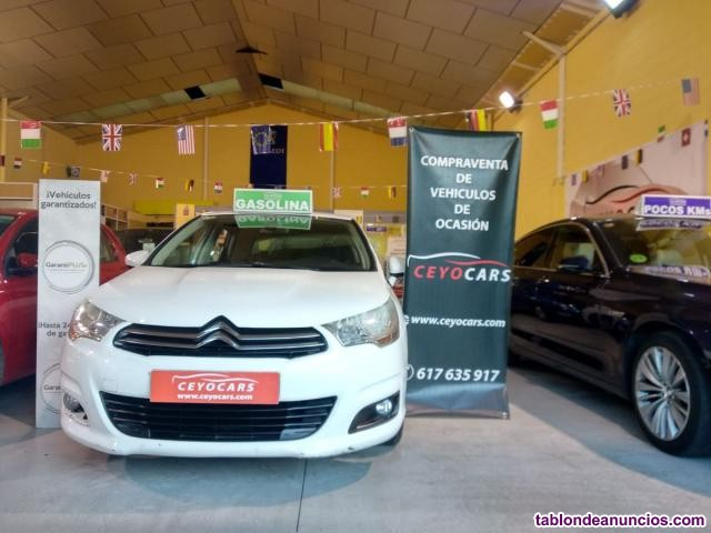 Citroen C4  1.6VTI SEDUCTION 120CV Gasolina AUTOMATICO  187369 Km 2013