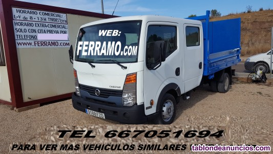 Nissan Cabstar volquete doble cabina