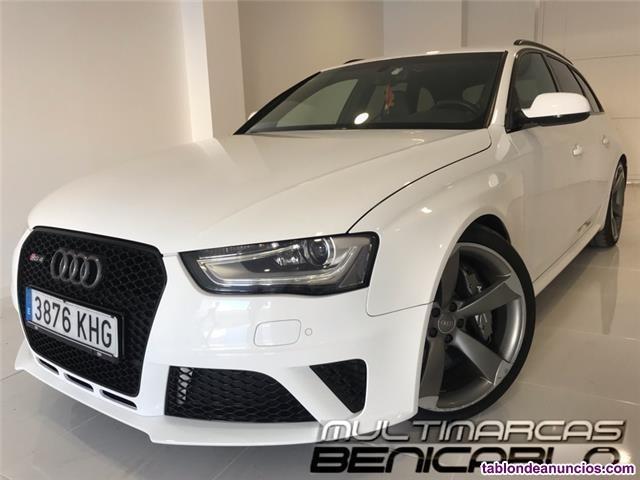 Audi rs4 quattro s-tronic 'baquets+frenos ceramicos'