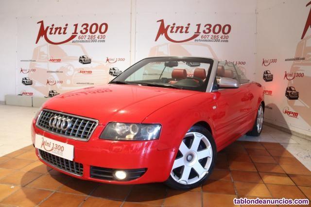 Audi s4 cabriolet 4.2 v8 quattro