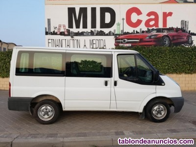 Ford Transit FT 280S Kombi 125 9Plazas Libro Garantía IVA In