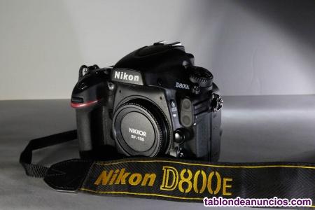 Camara Nikon 800E