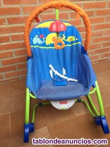 Hamaca balancín para bebés y niños