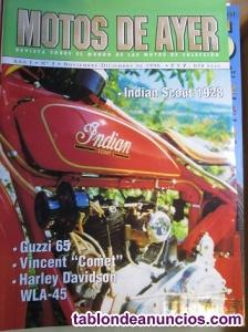 Revistas retro moto-coche