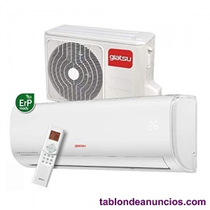 Giatsu aire acondicionado split inverter 3000 frig/h bomba calor aroma2.