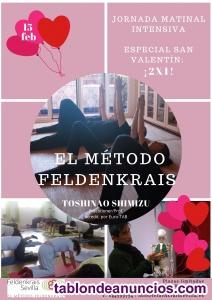 15 feb jornada matinal intensiva:método feldenkrais /especial san valentin ¡2x1!