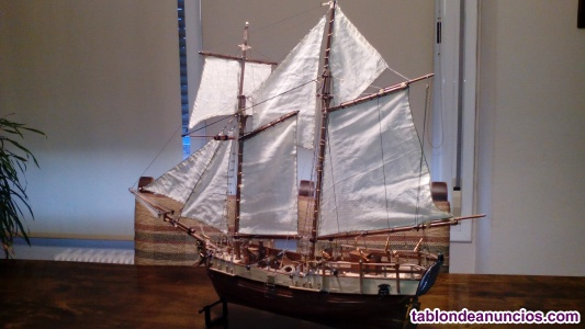 Maqueta barco Independence