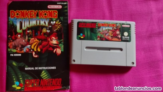 DONKEY KONG country snes completo