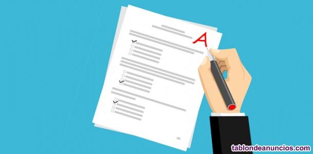 Examenes Gestión, Tramitación y Auxilio Procesal