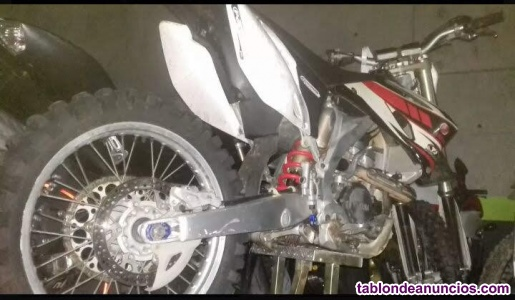 Vendo moto de cross