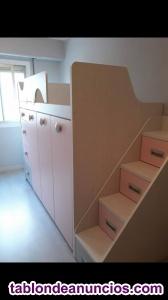 Habitación infantil juvenil seminueva