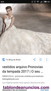Vestido de novia Angelica Pronovias