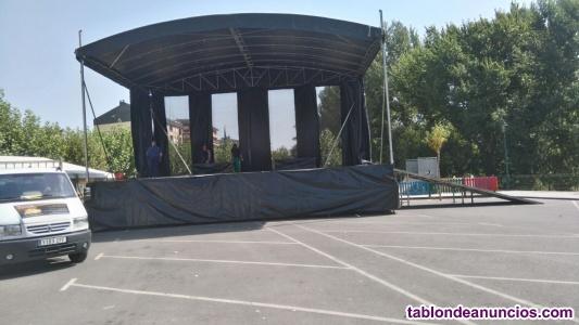 Venta de escenario movil ( para orquestas )