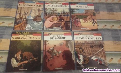 Vendo coleccion completa lois (6 tomos)