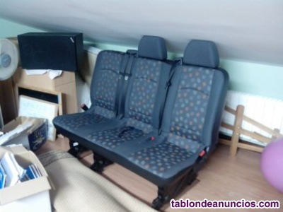 Vendo asiento trasero 3 plazas